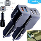 24W 4.8A Dual Port USB Car Charger Portable Adaptive for iPhone Samsung Galaxy