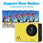 """3 Color 2.0"""" LCD Ultra HD 4K 1080P/30fps WiFi Sport DV Action Camera Camcorder"""