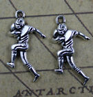 wholesale:30/100pcs Retro style rugby player alloy charms Pendants 30x16mm