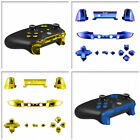 Full Button Sets Mod Replace Parts for Xbox One S Game Controller Matte Polished