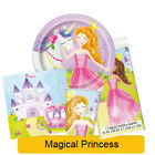 MAGICAL PRINCESS Birthday Party Tableware, Banners, Balloons & Decorations (UQ)