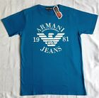 Emporio Armani Men's T-Shirt  + New Crew Neck Cotton EA t shirts S M L XL