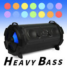 FM Portable bluetooth Speaker Wireless Stereo Loud Super Bass Sound Aux/USB/TF