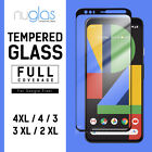NUGLAS Google Pixel 3 XL 2 XL 3D Full Screen Protector Curved Tempered Glass