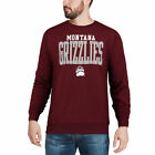 Champion Montana Grizzlies Maroon Eco Powerblend Expansion Pullover Sweatshirt