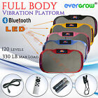 Body Vibration Machine Plate Platform Massage Fitness Slim with Bluetooth