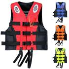 Water Sport Safty Adult Life Jacket Fully Enclosed Buckle Size L XL 2XL 3XL