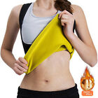 Women Workout Tank Top Exercise Shirt Neoprene Sauna Fitness