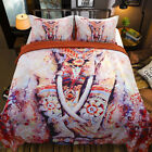 Elephant Duvet Cover With Pillowcases Quilt Cover Bedding Set Single Double King