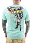 Mafia & Crime T-Shirt Full Contact 436 hellblau Neu Männer T-Shirt