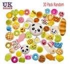 UK 30PCS Slow Rising Squishies Scented Squishy Squeeze Toy Reliever Stress Gifts