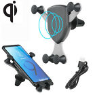 Qi Wireless Car Charger Gravity Car Mount Air Vent Holder For Samsung S9 Note 8