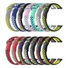 Dual Color Silicone Watchband Bracelet Strap Replace for Amazfit Watch 1st 2nd