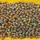 #8/0 - Spheroid Opaque Glass Seed Beads (40 grams / 1.40oz per Bag) photo