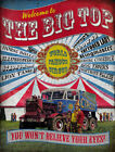WELCOME TO THE CIRCUS BIG TOP VINTAGE  METAL SIGN : 3 SIZES TO CHOOSE FROM (L)