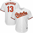 Baltimore Orioles Machado 13 Mens White Big  Tall 2XL 6XL Team Jersey MLB
