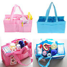 Baby Diaper Nappy Bottle Mother Bag Outdoor Insert Tote Storage Handbag JR