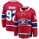 Fanatics Branded Jonathan Drouin Montreal Canadiens Red Breakaway Replica Jersey