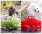 Small cute Dog Cat Tutu Dress Lace Skirt Pet Puppy Dog Princess Costume Clothes