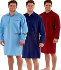 Mens NIGHTSHIRT  plain EASY CARE  LIGHTWEIGHT SUMMER SIZES  M L XL XXL  harvey