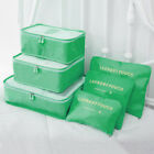 Storage Set Travel Clothes 6pcs Organizer Bag Luggage Pouch Bags Packing Case 6
