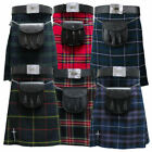Mens Kilt |Tartanista Huge Range Scottish 5 Yard 10 oz Quality Value Kilts