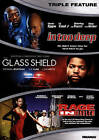 IN TOO DEEP/ THE GLASS SHIELD/ A RAGE IN HARLEM: Triple Feature DVD >NEW