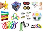 Autism ADHD Stress FIDGET TOYS Stress Relief Hand Spinners Wristband Chew UK