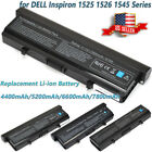 US Stock 6/9 Cell Battery for Dell Inspiron1525 1526 1545 1546 1440 GW240 RN873