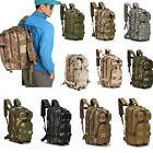 US Camo Hiking Camping Bag Army Tactical Trekking Rucksack Outdoor Backpack LP