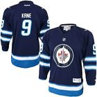 Reebok Evander Kane Winnipeg Jets Youth Navy Blue Replica Player Hockey Jersey