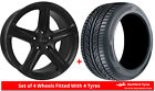 Alloy Wheels & Tyres 8.0x18 GEN2 Cygnus Black Matt + 2254018 Tyres