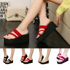 US STOCK Women Fashion Casual Flat Sandals Summer Beach Shoes Open Toe Shoes GB