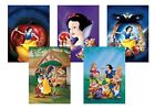 Disney Snow White & the Seven Dwarfs  A5 A4 A3 Classic Textless Film Poster