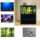 Underwater 3D Aquarium Background Poster Fish Tank Wall Decorations Sticker