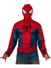 Adult's Mens Marvel Universe Avengers Spiderman Long Sleeve Shirt Costume