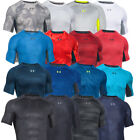Under Armour Mens UA Armour Compression Printed SS Base Layer Short Sleeve