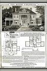 Poster, Many Sizes; Floorplan Magnolia Kit House From 1921 Sears Modern Homes Ca