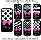 ebay iphone 5 cheap - Custom Name Monogram Chevron Bird Zebra Pink Damask f/ Samsung iPhone Phone Case