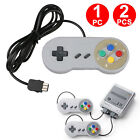 2x SNES Controller Gamepad For Super Nintendo Game Mini Classic Edition Console