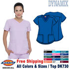 Dickies Scrubs DYNAMIX Women's Medical Uniform V-Neck Top DK730
