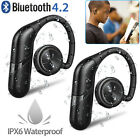 Waterproof Mini Wireless Sport Earbuds Headset Bluetooth HIFI Stereo Headphone