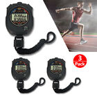 10 x Electronic LCD Timer Digital Sport Stopwatch Time Alarm Counter Chronograph photo