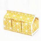 Multi-purpose Fabric Tissue Box Cover Napkin Paper Holder Storage Case Decor LD