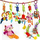 Baby Activity Stroller Car Seat Travel Lathe Hanging Toys Infant Rattles Toy W