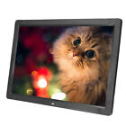 "7/17"" HD LED Digital Photo Picture Frame Clock Music Movie Player Remote Control"