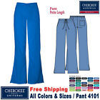 Внешний вид - Cherokee Scrubs ORIGINAL Women's Natural Rise Flare Leg Medical Pant(4101)_P