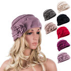 Womens Vintage Gatsby Style Wool Bucket Cloche Beanies Beret Winter Hats A376