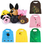 Cute  Grocery Tote Pouch Shopping Bags Animal Reusable Waterproof Pouch Handbag