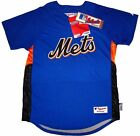 New York Mets Majestic Authentic Cool Base Batting Practice Jersey Youth XL on Ebay